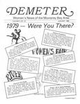 Demeter, vol. 2 no. 10