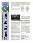 Faculty Focus, June 1, 2001, Vol. 1 No. 1 by California State University, Monterey Bay