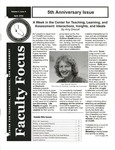 Faculty Focus, April 2004, Vol. 3 No. 4 by California State University, Monterey Bay