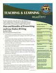 Teaching & Learning Matters, Spring 2008 by California State University, Monterey Bay