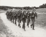 Photograph of Soldiers Marching