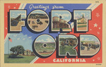 Greetings from Fort Ord California by Pictorial Wonderland