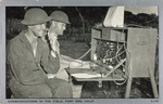 Communications in the Field, Fort Ord, Calif.