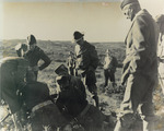 Photograph of General Stilwell in the Field with His Men
