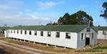 Former POW Camp: Bldg. 26 Exterior, Southwest Corner