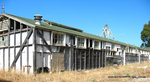 Former POW Camp: Shower Bldg., South Exterior View