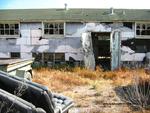 Former POW Camp: Shower Bldg., Entrance, Exterior by Dennis Sun