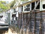 Former POW Camp: Shower Bldg., North Exterior View by Dennis Sun