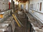 Former POW Camp: Latrines and Sinks by Dennis Sun