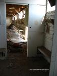 Former POW Camp: Latrines, Sink, Shower Bench by Dennis Sun