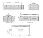 Fire Station Schematic by U.S. Army, Directorate of Engineering and Housing