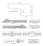 Finance Office Schematic 1, Bldg. 2437