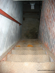 Incinerator Stairs to Basement