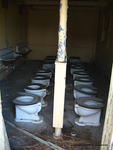 Commodes, Enlisted Latrines, East Garrison 8