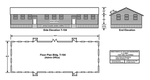 Admin. Bldg. Schematic, T-104, East Garrison 1 by U.S. Army, Directorate of Engineering and Housing