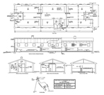 Hazardous Waste Bldg. 111 Schematic