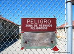 Hazardous Chemical Storage Yard Sign by Dennis Sun