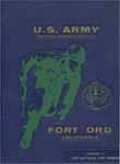 Fort Ord Yearbook: 29 November 1971 - 4 February 1972