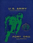 Fort Ord Yearbook: 25 October 1971 - 17 December 1971