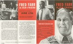 Fred Farr Is Our Friend, Campaign Brochure by Fred S. Farr