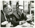 "Fred Farr with Governor Edmund ""Pat"" Brown"