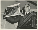 Fred Farr Presenting at a Scenic Highway Workshop Meeting, 1962 by State of California Department of Works, Division of Highways