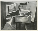 Fred Farr Presenting at a Scenic Highway Workshop Meeting, 1962