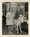 Fred Farr with His Daughter Nancy at the 1964 Democratic National Convention