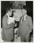 Fred Farr Speaking With an Attendee at the White House Conference on Natural Beauty