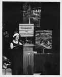 Lady Bird Johnson Speaking at the White House Conference on Natural Beauty