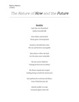 In-depth project: The Nature of Now and the Future