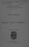 1904, Water Resources in Salinas, United States Department of Interior, Homer Hamlin