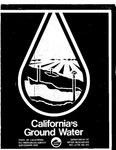 1975, Bulletin No. 118, California's Ground Water, Department of Water Resources