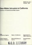 1975 - Sea-Water Intrusion in California, Inventory of Coastal Ground Water Basins