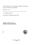1988 - Simulated Effects of Groundwater Management Alternatives for the Salinas Valley, Water Resources Investigations Report 87-4066