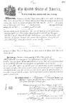 000286, US Land Patent, T24S, R13E, Abel J. Trimble, July 1, 1874, and BLM Land Patent Detail Sheet