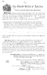 000287, US Land Patent, T24S, R13E, Alexander Trimble, July 1, 1874, and BLM Land Patent Detail Sheet