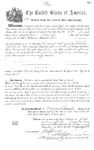 000430, US Land Patent, T24S, R13E, William Wallace Low, July 1, 1874, and BLM Land Patent Detail Sheet