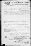 002181, US Land Patent; Amesquita, Ramon; June 30, 1883, and BLM Land Patent Detail Sheet