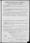 012070, US Land Patent; T15S, R05E; Alviso, Anistacio; Dec. 12, 1889, and BLM Land Patent Detail Sheet