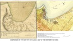Comparison of 1770 Map with 1913 U.S.G.S. Map of the Monterey Bay Area