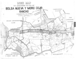 Book No. 125, 127, 129, 131 &133, T12-14S, R1-2E, MDM; Bolsa Nueva y Moro Cojo Rancho Map – 1915-1918