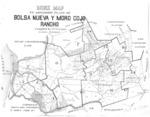 Book No. 125, 127, 129, 131 &133, T12-14S, R1-2E, MDM; Bolsa Nueva y Moro Cojo Rancho Map – 1919-1920
