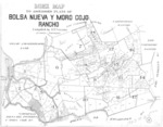 Book No. 125, 127, 129, 131 &133; T12-14S, R1-2E, MDM; Bolsa Nueva y Moro Cojo Rancho Map – 1923-1924