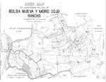 Book No. 125, 127, 129, 131 &133; T12-14S, R1-2E, MDM; Bolsa Nueva y Moro Cojo Rancho Map – 1925-1927