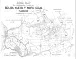 Book No. 125, 127, 129, 131 &133; T12-14S, R1-2E, MDM; Bolsa Nueva y Moro Cojo Rancho Map – 1928-1929