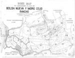 Book No. 125, 127, 129, 131 &133; T12-14S, R1-2E, MDM; Bolsa Nueva y Moro Cojo Rancho Map – 1934-1936