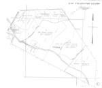 Book No. 197; T16S, R2-3E; T17S, R2-4E; MDM; Los Tularcitos Rancho Map – 1923-1924