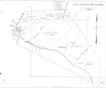 Book No. 197; T16S, R2-3E; T17S, R2-4E; MDM; Los Tularcitos Rancho Map – 1928-1929