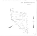 Book No. 239; T16-17S, R1-2E; MDM; San Francisquito Rancho Map – 1940-1943